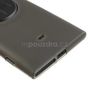 Gelové matné pouzdro pro Nokia Lumia 1020- šedé - 4