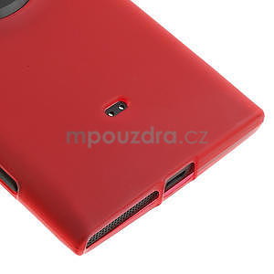 Gelové matné pouzdro pro Nokia Lumia 1020- červené - 4