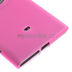 Gelové matné pouzdro pro Nokia Lumia 1020- růžové - 4