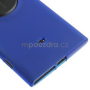 Gelové matné pouzdro pro Nokia Lumia 1020- modré - 4