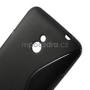 Gelové S-line pouzdro pro Nokia Lumia 1320- černé - 4