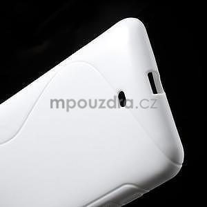 Gelové S-line pouzdro pro Nokia Lumia 1320- bílé - 4