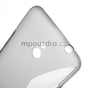 Gelové S-line pouzdro pro Nokia Lumia 1320- šedé - 4