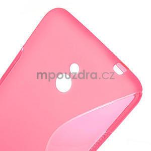 Gelové S-line pouzdro pro Nokia Lumia 1320- růžové - 4