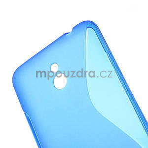 Gelové S-line pouzdro pro Nokia Lumia 1320- modré - 4
