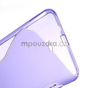 Gelové S-line pouzdro pro Nokia Lumia 1320- fialové - 4