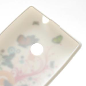 Gelové pouzdro na Nokia Lumia 520- barevné motýlci - 4