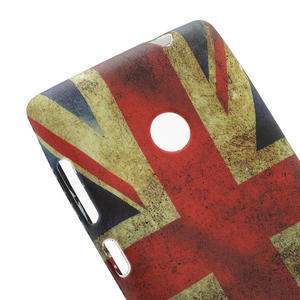 Gelové pouzdro na Nokia Lumia 520- vlajka - 4