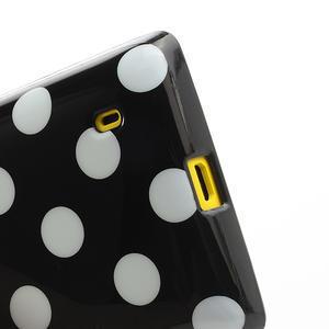 Gelové PUNTÍK pouzdro na Nokia Lumia 520- černé - 4