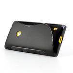 Gelové S-line pouzdro na Nokia Lumia 520- černé - 4/6