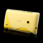 Gelové S-line pouzdro na Nokia Lumia 520- transparentní - 4/6