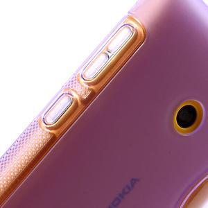 Gelové S-line pouzdro na Nokia Lumia 520- fialové - 4