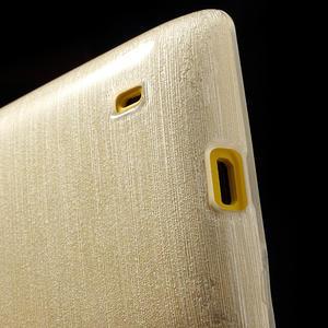 Gelové kartáčové pouzdro na Nokia Lumia 520- bílé - 4