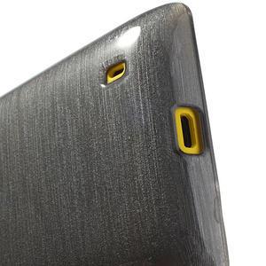 Gelové kartáčové pouzdro na Nokia Lumia 520- šedé - 4