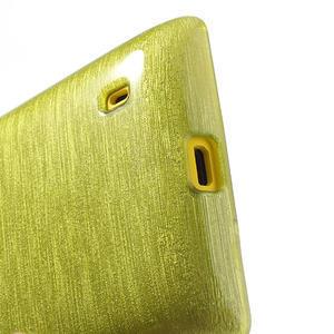Gelové kartáčové pouzdro na Nokia Lumia 520- zelené - 4