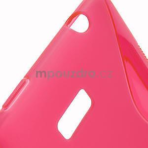 Gelové S-line pouzdro pro HTC Desire 600- červené - 4
