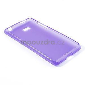 Gelové matné pouzdro pro HTC Desire 600- fialové - 4