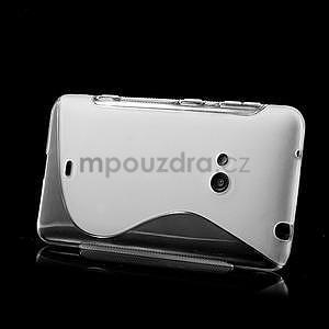 Gelové S-line pouzdro pro Nokia Lumia 625- transparentní - 4