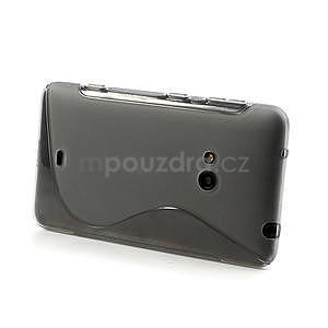 Gelové S-line pouzdro pro Nokia Lumia 625- šedé - 4