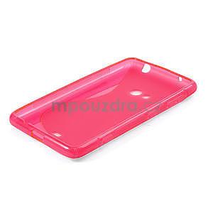 Gelové S-line pouzdro pro Nokia Lumia 625- růžové - 4