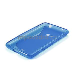 Gelové S-line pouzdro pro Nokia Lumia 625- modré - 4
