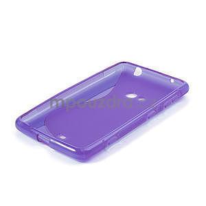 Gelové S-line pouzdro pro Nokia Lumia 625- fialové - 4