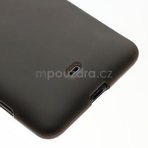 Gelové matné pouzdro pro Nokia Lumia 625- šedé - 4