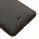 Gelové matné pouzdro pro Nokia Lumia 625- šedé - 4/5