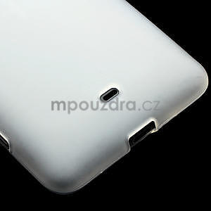 Gelové matné pouzdro pro Nokia Lumia 625- bílé - 4