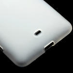 Gelové matné pouzdro pro Nokia Lumia 625- bílé - 4/5