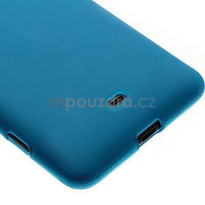 Gelové matné pouzdro pro Nokia Lumia 625- světlemodré - 4