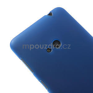 Gelové matné pouzdro pro Nokia Lumia 625- modré - 4