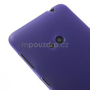 Gelové matné pouzdro pro Nokia Lumia 625- fialové - 4