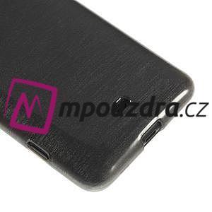 Gelové kartáčové pouzdro na Nokia Lumia 625 - šedé - 4
