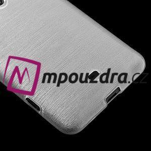 Gelové kartáčové pouzdro na Nokia Lumia 625 - bílé - 4