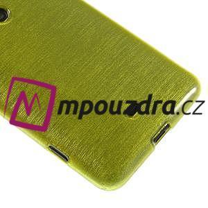 Gelové kartáčové pouzdro na Nokia Lumia 625 - zelené - 4