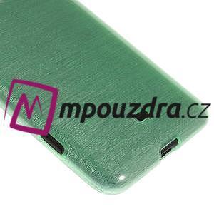 Gelové kartáčové pouzdro na Nokia Lumia 625 - cyan - 4