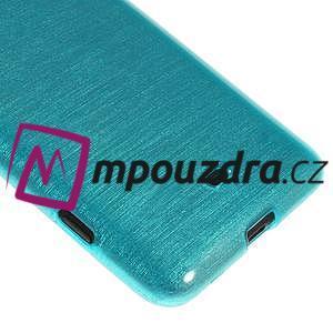 Gelové kartáčové pouzdro na Nokia Lumia 625 - modré - 4