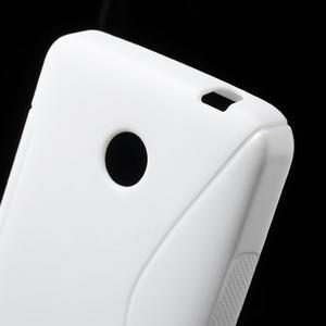 Gelové S-line pouzdro na Nokia Lumia 630- bílé - 4