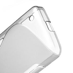 Gelové S-line pouzdro na Nokia Lumia 630- šedé - 4