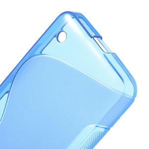 Gelové S-line pouzdro na Nokia Lumia 630- modré - 4
