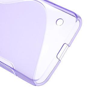 Gelové S-line pouzdro na Nokia Lumia 630- fialové - 4