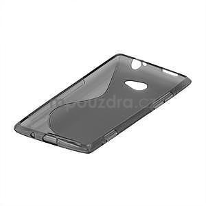 Gelové S-line pouzdro pro HTC Windows phone 8X- šedé - 4