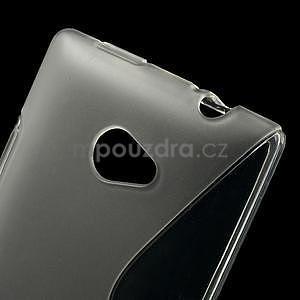 Gelové S-line pouzdro pro HTC Windows phone 8X- transparentní - 4