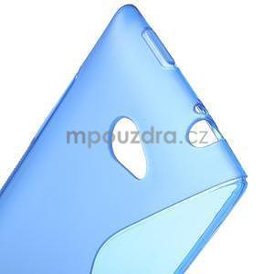 Gelové S-line pouzdro pro HTC Windows phone 8X- modré - 4