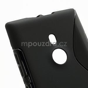 Gelové S-liné pouzdro pro Nokia Lumia 925- černé - 4