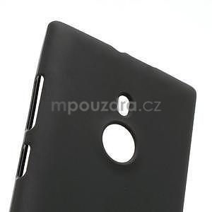 Gelové matné pouzdro pro Nokia Lumia 925- černé - 4