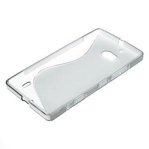 Gelové S-line pouzdro na Nokia Lumia 930- šedé - 4