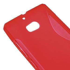 Gelové S-line pouzdro na Nokia Lumia 930- červené - 4