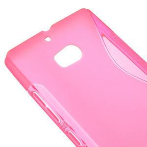 Gelové S-line pouzdro na Nokia Lumia 930- růžové - 4